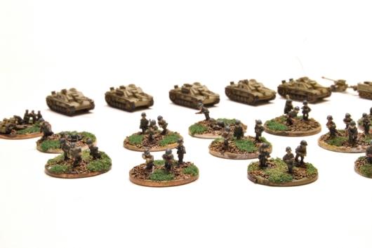 Adler infantry, GHQ armor.