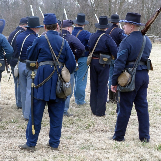 Every Confederate wants to see the Yankee rear, right?