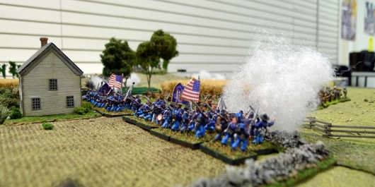 Rapid firing Yanks